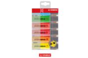 Stabilo- Boss- Highlighter - Assorted- Colours- (6 Pack)