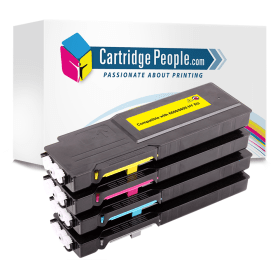 Compatible- Xerox- 106R022- High- Capacity- Black- &- Colour- Toner- Cartridge- 4- Pack (Own Brand)