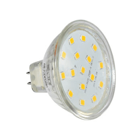 MR16- LED- 4W- Spotlight- Bulb- (35W Equivalent) 330- Lumen- Warm- White