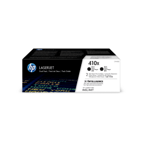 HP- 410X- (CF410XD)- Original- High- Capacity- Black- Toner -Cartridge- Twinpack- Cashback -Available