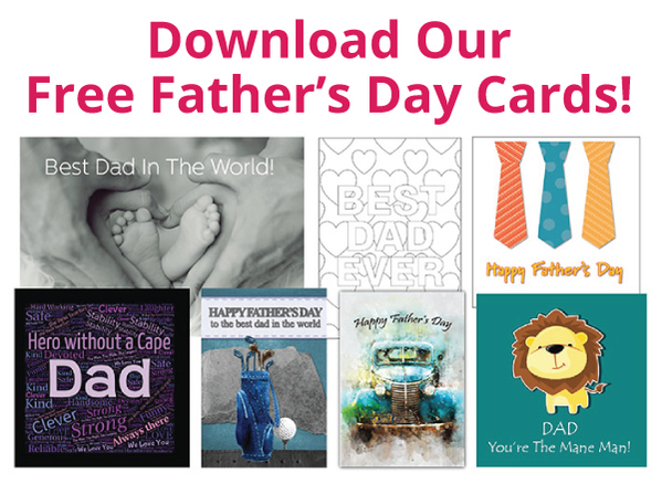 download our fathers day cards- alongside your promotions