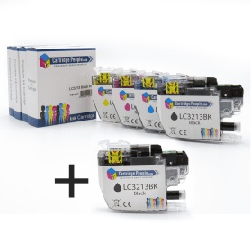 Compatible- Brother- LC3213- High- Capacity- Black- &- Colour- Ink -Cartridge- 5- Pack (Own Brand)
