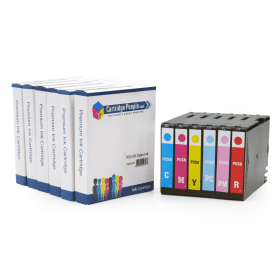 Compatible Canon PGI-29- (4873B005)- Colour- Ink- Cartridge- 6- Pack- (Own Brand)