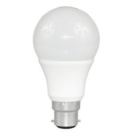 B22- Bayonet- LED- 9W- Standard- GLS- Bulb -(60W Equivalent) 806- Lumen - Warm- White- Frosted