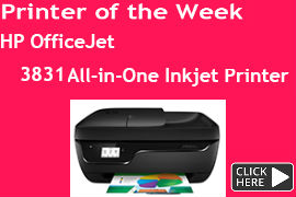 HP- OfficeJet- 3831- All-in-One- Inkjet- Printer