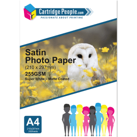 255g- A4- Satin- Photo- Paper- x- 20- (Own Brand)