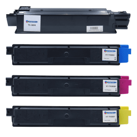 Compatible- Kyocera- TK-580- Black- and- Colour- Toner- Cartridge- 4 -Pack (Own Brand)