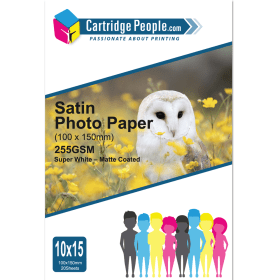 255g- 10x15cm- Satin- Photo- Paper- x- 20- (Own Brand)