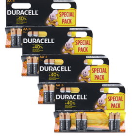 Duracell AA Batteries - Pack of 24