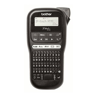brother pt-h110- handheld thermal transfer label printer