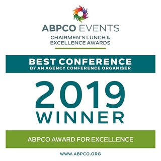 2019 ABPCO Winer Best Agency Conference Organiser