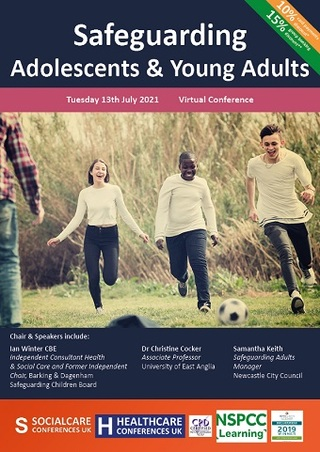 Safeguarding Adolescents and Young Adults conference brochure